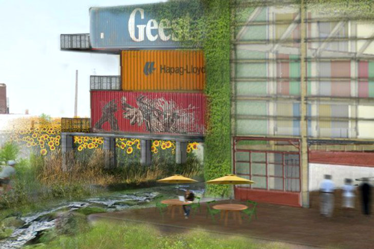 Collision Works Is A Boutique Shipping Container Hotel Slated For Detroit