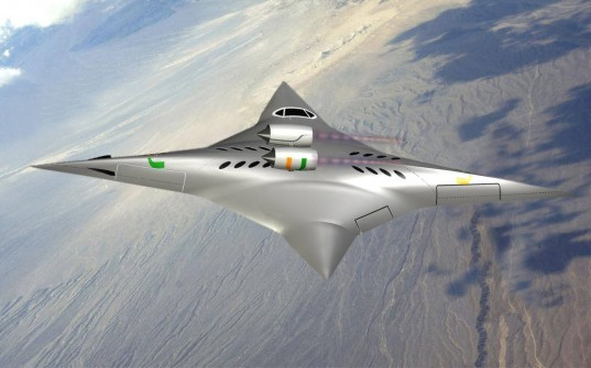 university of miami, supersonic aircraft, ge-chen zha, flying wing, NASA, supersonic speed, sonic boom, green aircraft, energy efficient aircraft, florida state university, Innovative Advanced Concepts, bi-directional aircraft