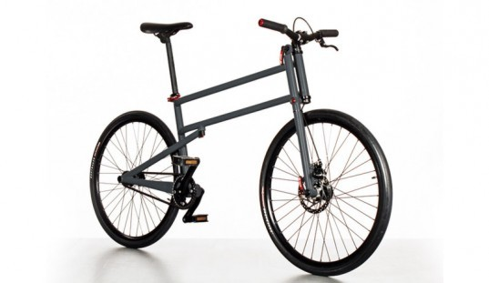 Folder A Folding Bike With Full Size Wheels By Mikulas