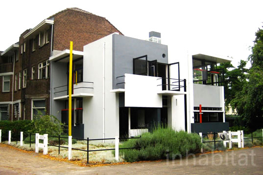 1920u0027s Rietveld Schröder House In Utrecht Is A Simple, Elegant And  Completely Transformable Home | Inhabitat   Green Design, Innovation,  Architecture, ...
