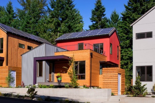 Grow Community, Davis Studio Architecture Design, one planet community, net zero community, net zero house, bainbridge island