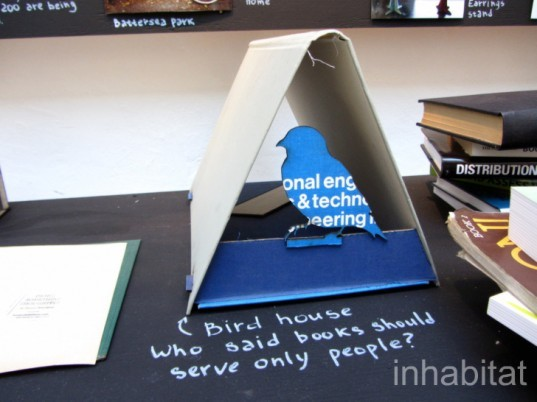Books are not waste, Inessa Demidova, how come, goldsmith students, london, london design festival, 2012, rag factory