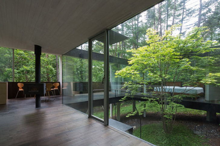 Japan S Modernist Spread House Is An Elegant Low Impact