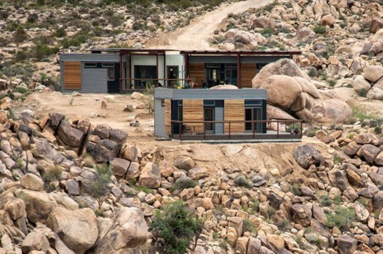 Joshua Tree, Origin, Blu Homes, prefab home, desert architecture, house tour, prefab, tim disney