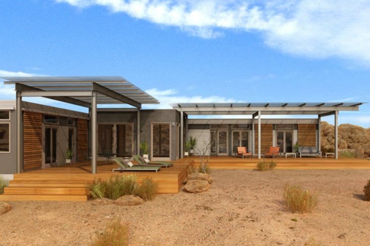 Tour Blu Home\'s First Prefab in Joshua Springs This Weekend ...