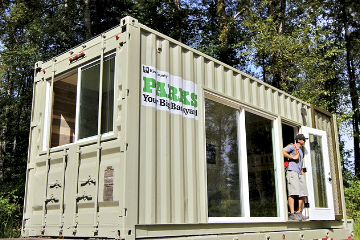 King County Parks And Hybrid Architecture Unveil Upcycled