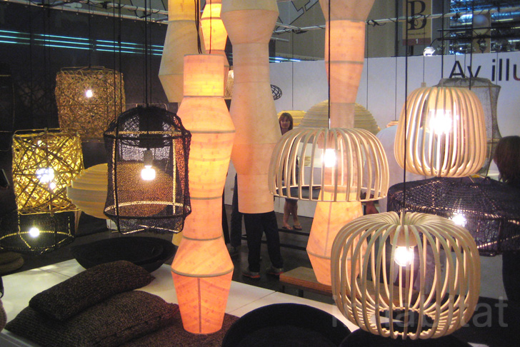 Recycled materials and innovative low energy designs shine at paris maison - Objets encombrants paris ...