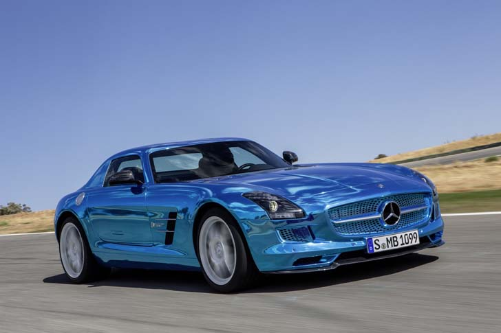 Mercedes Benz SLS AMG Electric Drive