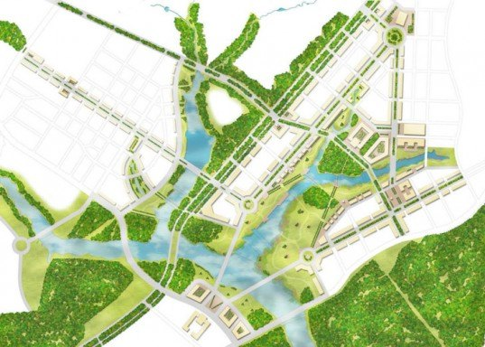 Moscow Agglomeration Competition, Grumbach & Associes, Buro Happold, Capital Cities Planning Group, Moscow, urban development, energy efficiency, urban planning, public transportation, architecture competition winners