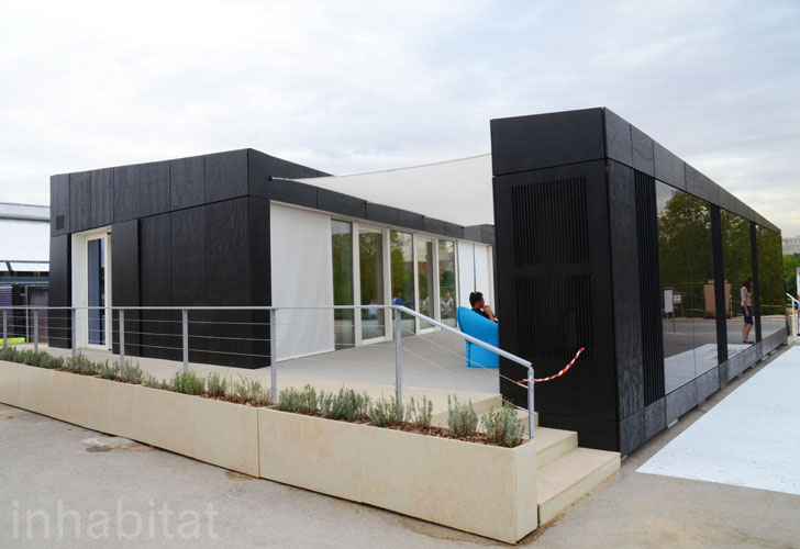 Hungary S Odoo Solar Decathlon House Is Wrapped In Solar