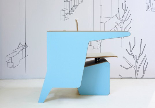 prooff, #006 SideSeat, london design festival, superbrands, sustainable design, green design, multifunctional furniture, green interiors, sustainable interiors, green furniture, sustainable furniture, studio makkink & bey, fsc-certified, mdf