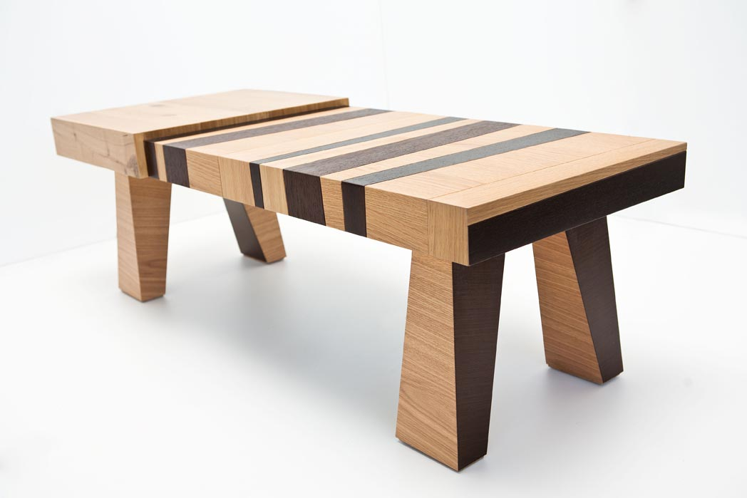 Chissick Designs Wood Con Fusion Series Creates Funky Furniture