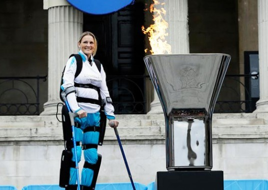 exoskeleton, ReWalk, Argo Medical Technologies, Cyclone Mobility, ReWalk Exoskeleton, Claire Lomas, Paralympics, London Marathon, International Spinal Cord Society