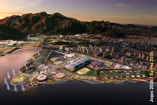 Rio 2016 Olympic Games, Olympic Games masterplan, AECOM, Pujol Barcelona Architects, Wilkinson Eyre Architects, IMG Sports, Expedition, sport architecture, temporary building, urban plan, London 2012 Olympic Games