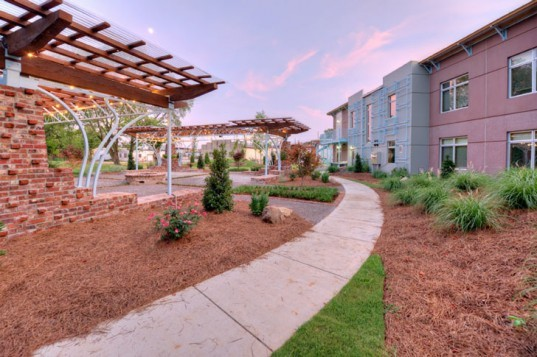 Crash Pad Hostel, Chattanooga, Tennessee, Green, Sustainable, LEED Platinum, Hostel, Artisan, Reclaimed Materials, Solar Power, Greywater, River Street Architecture