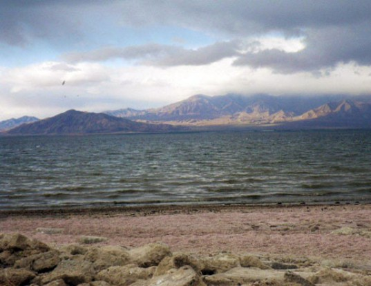 salton sea, saltwater lake, los angeles, city of angels, fish odour, rotten egg stench, lake, pollution, dead fish, thunderstorm