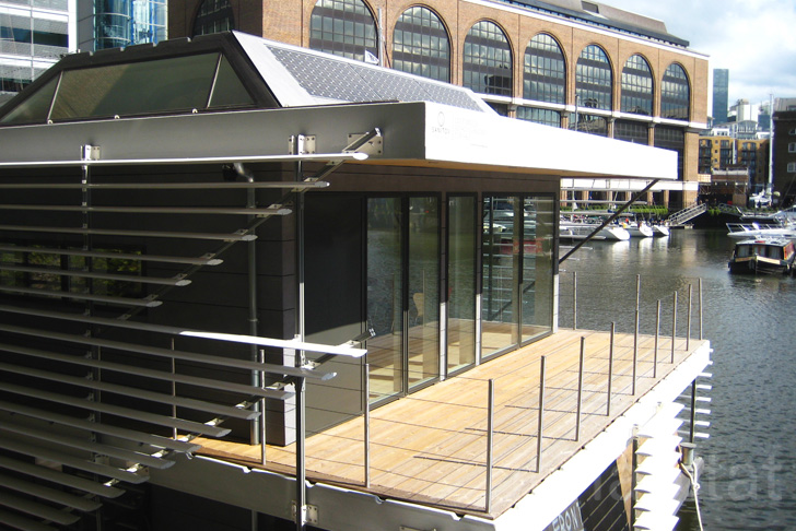 Sanitov Unveil Eco Lux Floating Home At This Year 180 S London