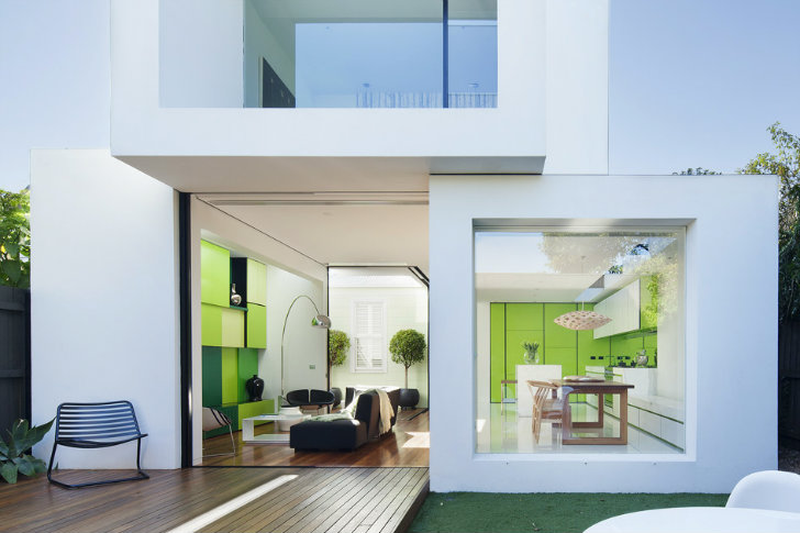 Shakin Stevens House Is A Modern Renovation The Embraces Green In Melbourne  | Inhabitat   Green Design, Innovation, Architecture, Green Building Part 57
