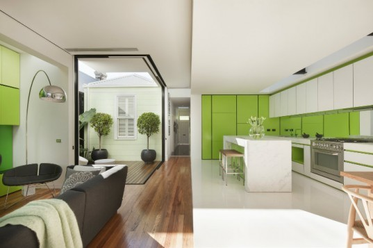 Shakin Stevens House, Matt Gibson Architecture Design, green renovation, green home, melbourne, eco home, renovation