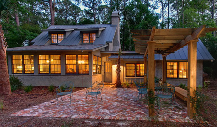 cozy leed platinum southern cottage designed by brz
