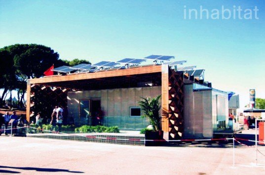 Tongji University, Solar Decathlon, Para Ecohouse, sustainable design, Daoism, off-grid, solar power, photovoltaics, mortise and tenon, bamboo, state of the art, prefabricated design, energy efficient, european solar decathlon, 2012 solar decathlon, 2012 european solar decathlon