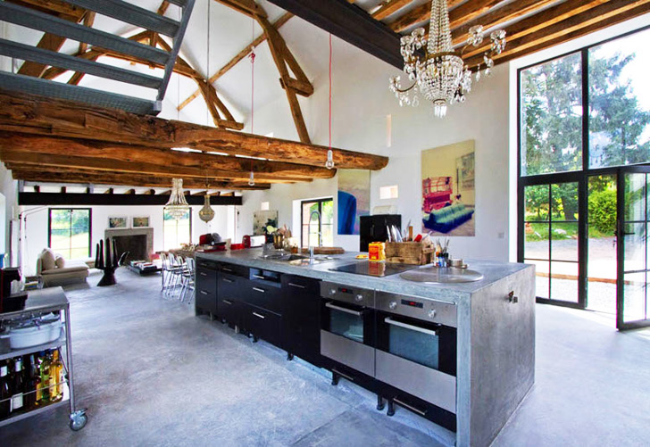Drool Over this Stunning Burgundy Barn Renovation by Josephine Interior  Design | Inhabitat - Green Design, Innovation, Architecture, Green Building