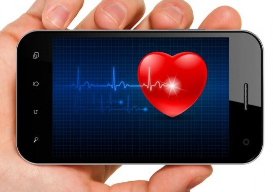 cell phone, heart monitor, cell phone heart monitor, cell phone heart monitor app, design for health