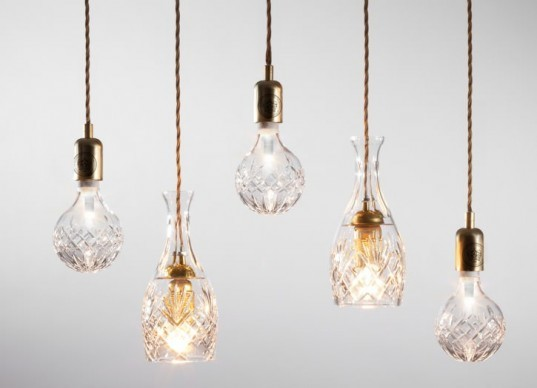 Lee Broom, UK, interior design, crystal bulb, lighting, LED, Cumbria Crystal