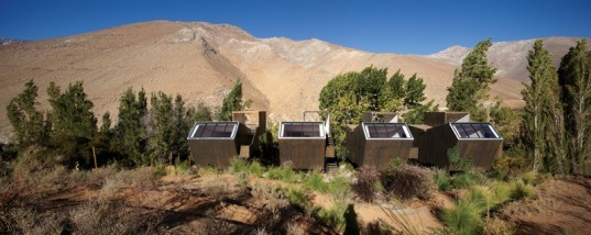 Elqui Domo Hotel, Chile, Andes Mountains, RDM Architecture, geodesic dome, cabins, retreat, astronomy, star-gazing,