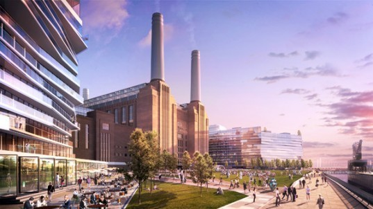 "London, Battersea Power Station, SP Setia, Sime Darby, Malaysia, Mixed Use Development, Development, News"" title=""Battersea Power Station Development"
