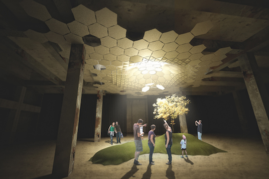 LowLine Unveils Solar Light Canopy That Allows Sunlight to Fill an Underground Park | Inhabitat - Green Design Innovation Architecture Green Building & LowLine Unveils Solar Light Canopy That Allows Sunlight to Fill an ...