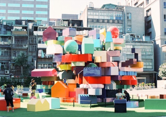 architecture inspired by toys, playful architecture, green design, eco design, sustainable design, fun architecture, mvrdv, vertical village