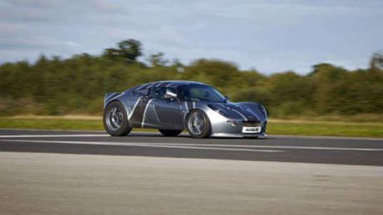 nemesis, ecotricity, electric car, uk, elvington field, land speed record, ponting