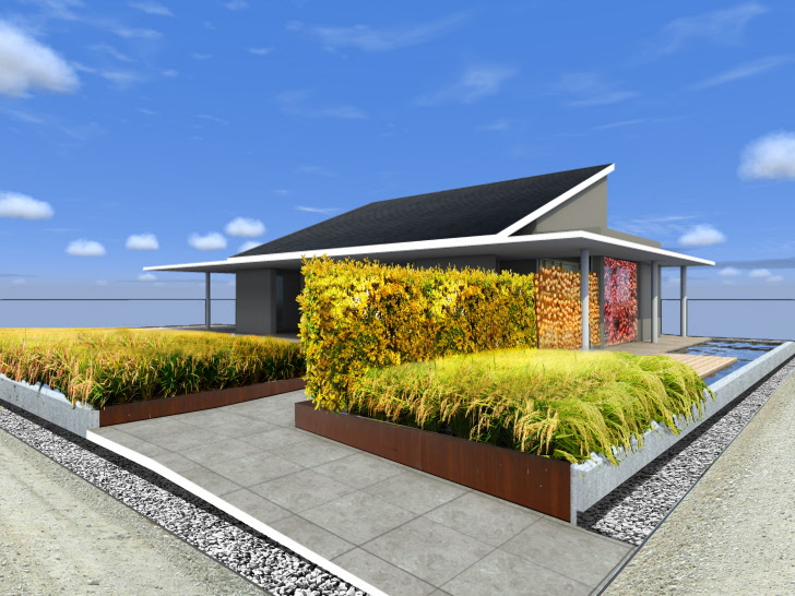 Japanu0027s Omotenashi House To Promote A Self Sufficient Lifestyle At 2012  Solar Decathlon Europe | Inhabitat   Green Design, Innovation,  Architecture, ... Part 17