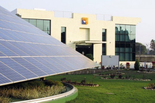 Sun Carrier Omega Building, net-zero energy, India, solar, photovoltaic
