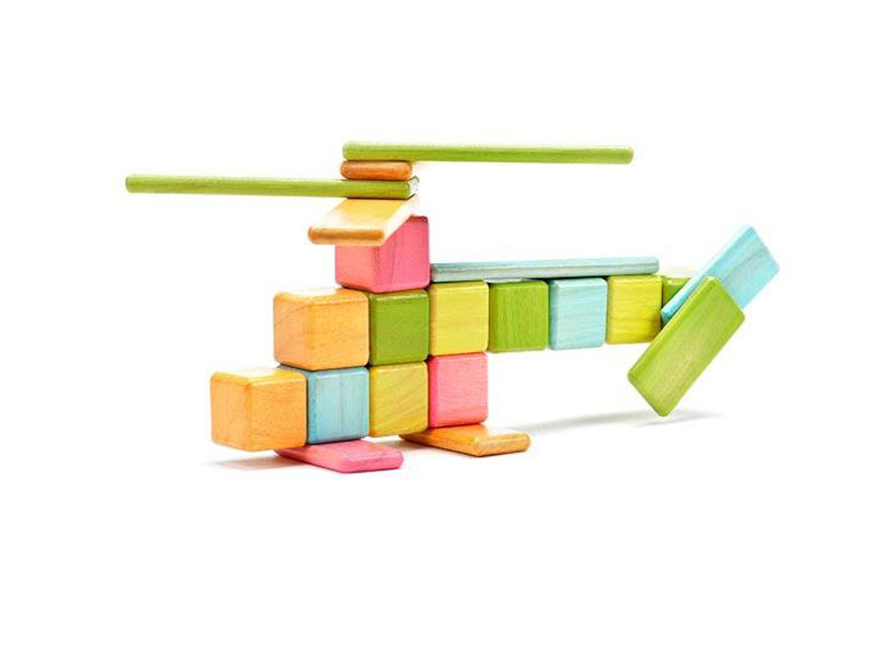Tegu Magnetic Building Blocks Help Send Honduran Kids To School