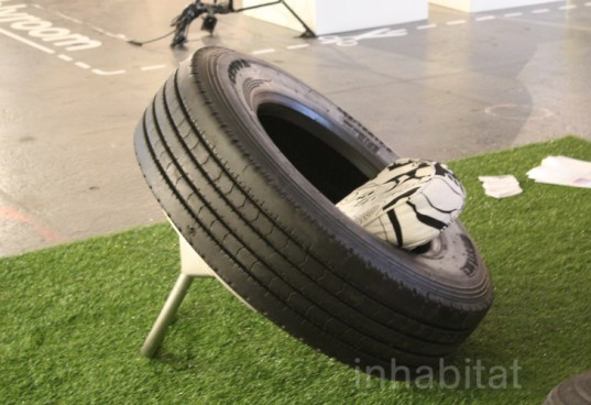 rene olivier , tire furniture, tyre furniture, tires, furniture, seating, rubber, chairs, tyres, recycling, sustainable design, green design, recycled design, green furniture, tire furniture, recycled tires