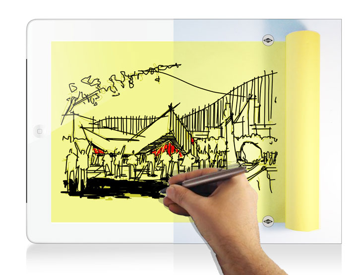 Design sketch and communicate with morpholio 39 s new trace app now available inhabitat Architecture designing app