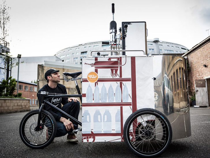 The Velopresso Bike Is A Pedal Powered Mobile Coffee Shop