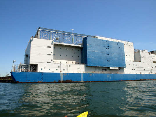 NY's Vernon C. Bail Floating Prison is Like a Cruise Ship ...