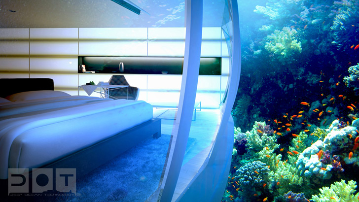 Deep Ocean Technology Unveils Plans For Sci Fi Styled Underwater Hotel In Dubai