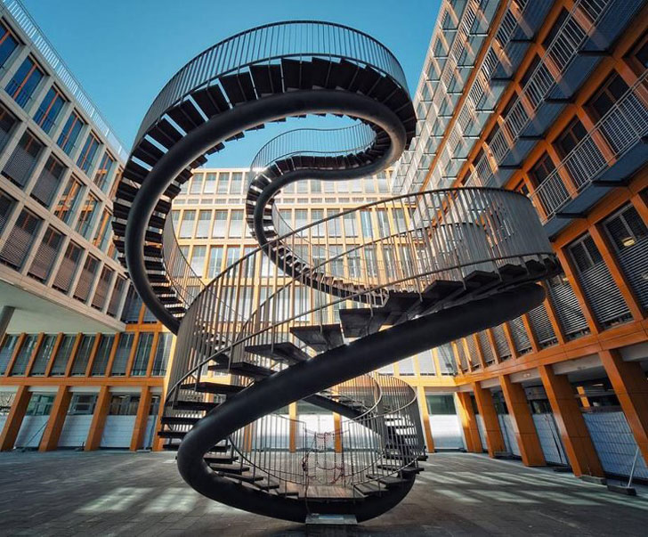 Spiral Staircase To Nowhere By Olafur Eliasson « Inhabitat U2013 Green Design,  Innovation, Architecture, Green Building