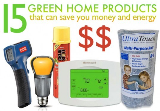go green in your home, green home tips, save money, save money in your home, save energy in your home, products that help you save energy, energy saving products
