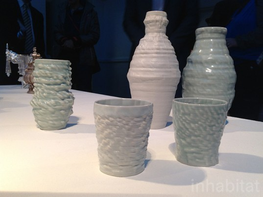 3d print show, 3d printing, 3d printed design, sustainable design, 3d-printed ceramics, green design, eco design, sound surface, jonathan keep
