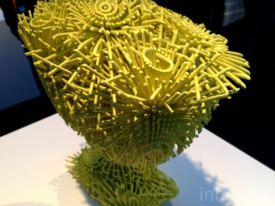 3d print show, 3d printing, 3d printed design, sustainable design, 3d-printed vase, green design, eco design