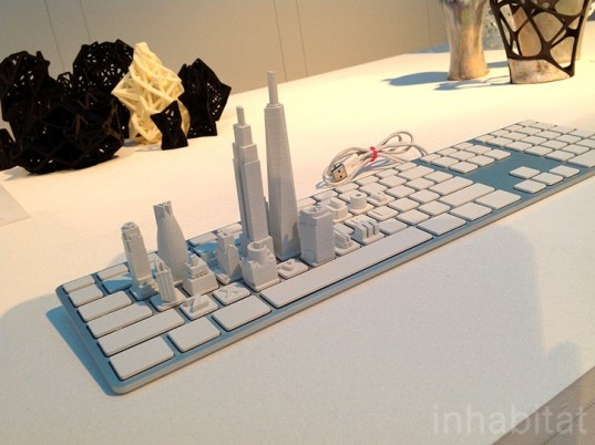 3d print show, 3d printing, 3d printed design, sustainable design, 3d-printed keyboard, green design, eco design
