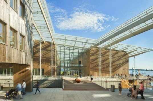 Astrup Fearnley Museet, Renzo Piano, oslo, art museum, tjuvholmen icon complex, natural daylighting,