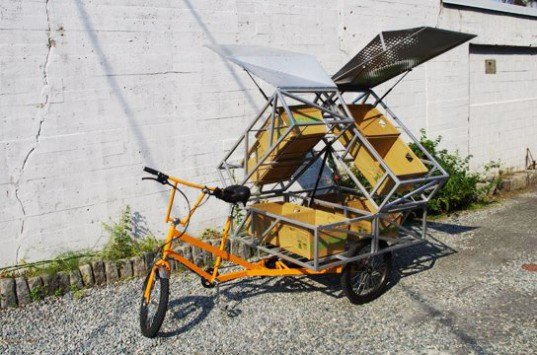 BR+A+CE, mobile farm stand, Boston, farmers' market, produce, food dessert, pedal power, human power