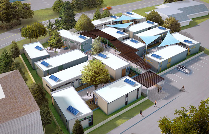 Affordable Prefab Housing Architecture