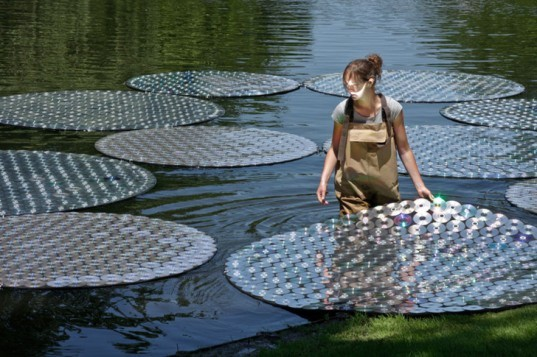bruce munro, artist, waterlily, victoria lily, longwood gardens, light, pennsylvania, cd's